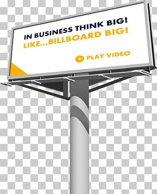 Out-of-home Advertising Digital Billboard PNG