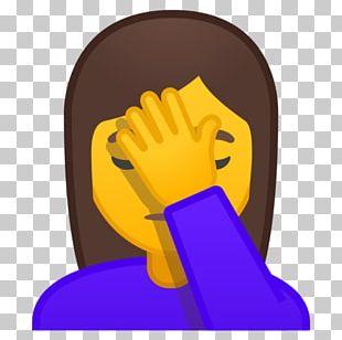 Facepalm Emojipedia Gesture Emoticon PNG