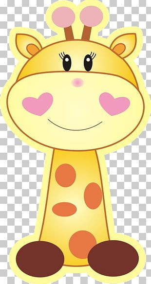 Baby Shower Infant Party Giraffe PNG