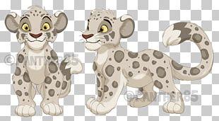 Cheetah Lion Leopard Cartoon Terrestrial Animal PNG