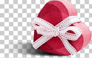 Paper Gift Box Valentines Day PNG