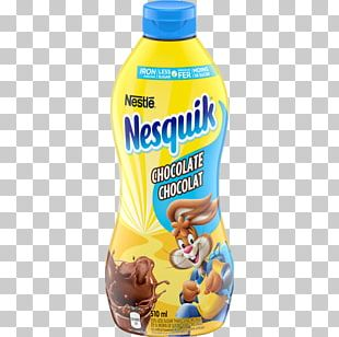 Chocolate Milk Nesquik Chocolate Syrup Flavored Syrup PNG