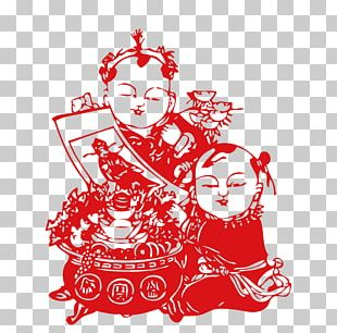 Papercutting Chinese Paper Cutting Chinese New Year PNG