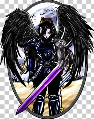 Fallen Angel Seraph Drawing PNG