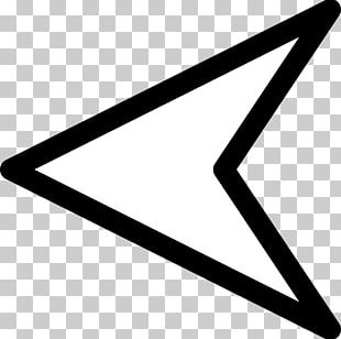 Triangle Arrow Left PNG