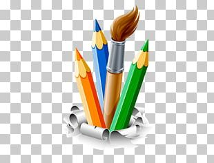 Art Palette Paintbrush Painting PNG