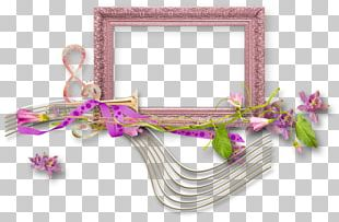 Musical Note Floral Design PNG