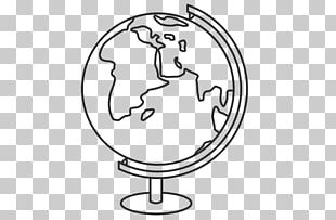 Coloring Book Child Globe Printing PNG
