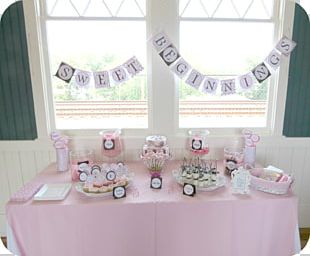 Baby Shower Table Party Bridal Shower PNG