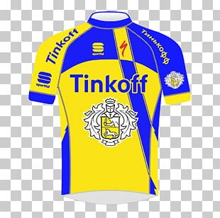 Sports Fan Jersey Tinkoff Brewery T-shirt Logo PNG