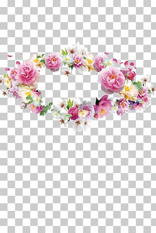 Flower Garland Crown Wreath PNG