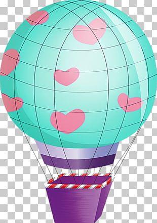 Hot Air Ballooning Scrapbooking PNG