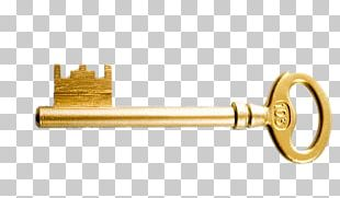 Key Gold PNG