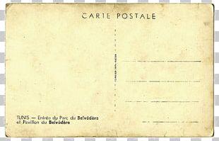 Paper Letter Postcard PNG