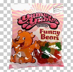 Gummy Bear Gummi Candy Chocolate Bar PNG