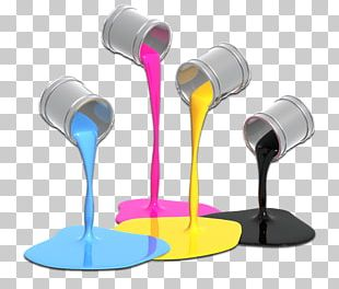 CMYK Color Model Paint Screen Printing PNG