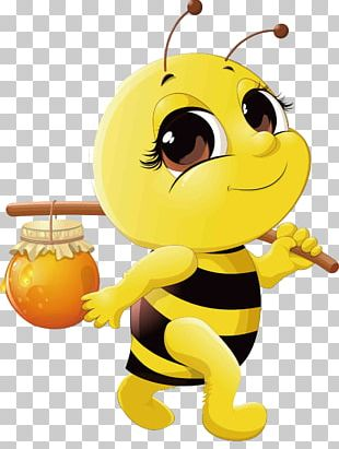 Honey Bee Cartoon PNG