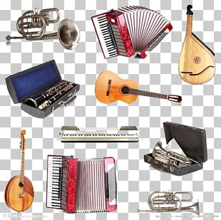 Musical Instrument Violin Trumpet PNG