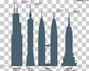 Willis Tower Petronas Towers Taipei 101 Burj Khalifa CN Tower PNG