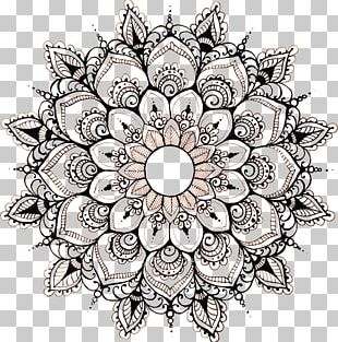 Mandala Floral Design Drawing Art Circle PNG