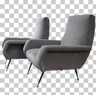 Recliner Eames Lounge Chair Club Chair Mid-century Modern PNG