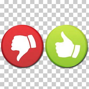 Yes And No Check Mark Thumb Signal Icon PNG