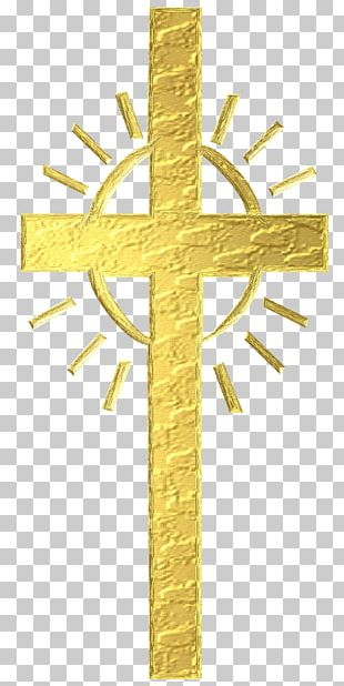 Christian Cross Crucifix Religion Symbol PNG