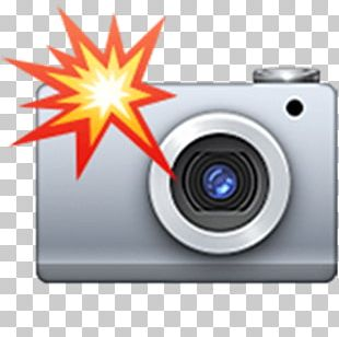 Emoji Camera Flashes Photography PNG