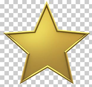 Hollywood Gold Star PNG