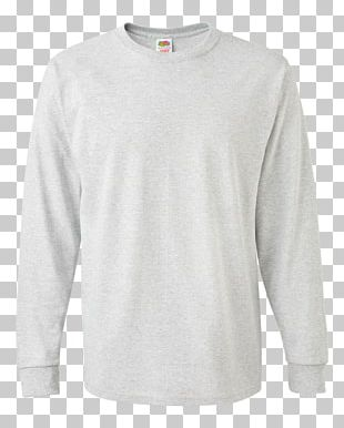 Long-sleeved T-shirt Fruit Of The Loom PNG