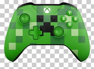 Minecraft Xbox One Controller Game Controllers PNG