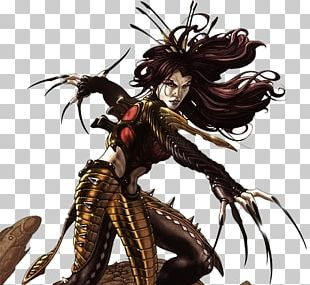 Lady Deathstrike Wolverine Mariko Yashida Marvel Comics PNG