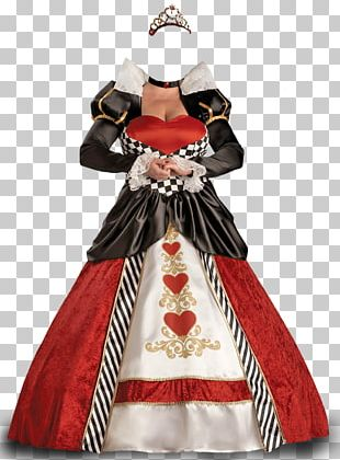 Queen Of Hearts Costume Party Dress Clothing PNG