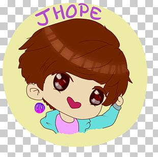 Chibi BTS Drawing Fan Art PNG