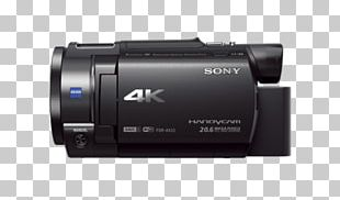 Sony Handycam FDR-AX33 Video Sony Corporation Camcorder SteadyShot PNG