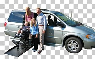 Minivan Car Door Wheelchair PNG