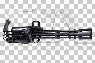 Gun Barrel Minigun Airsoft Guns Gatling Gun PNG