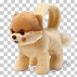 Pomeranian Boo Gund Handbag Plush PNG