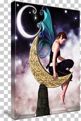 Fairy Moon Elf Art Sprite PNG