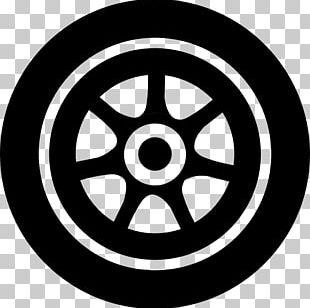 Alloy Wheel Car Spoke Rim Circle PNG