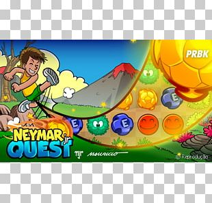Neymar Jr Quest Video Game Brazil National Football Team PNG