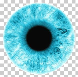 Iris Eye Color Blue PNG