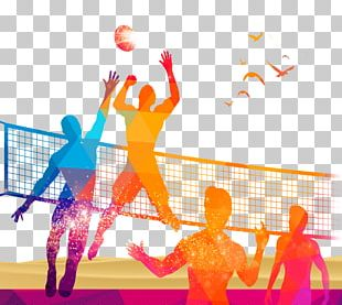 Volleyball Sport PNG