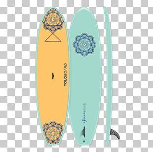 Surfboard Standup Paddleboarding Yoga YOLO BOARD ADVENTURES PNG
