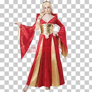 Halloween Costume Middle Ages Clothing Queen Of Hearts PNG