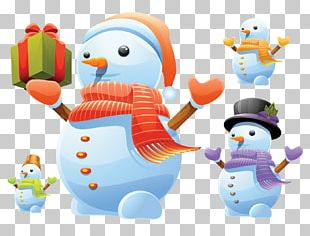 Snowman 3D Computer Graphics PNG