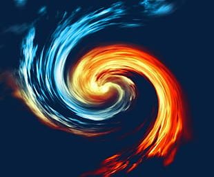 Ice Whirlpool PNG