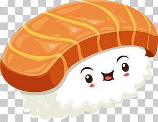 Sushi Cartoon Animation PNG