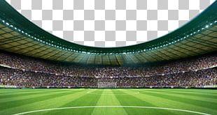 Football Pitch Stadium Arena PNG