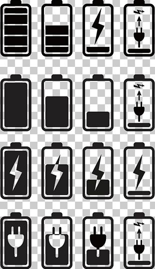 Battery Mobile Phone Icon PNG